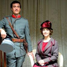 Fango e Gloria: Eugenio Franceschini insieme a Valentina Corti in una foto promozionale