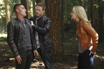 C'era una volta: Michael Socha, Josh Dallas e Jennifer Morrison in Rocky Road