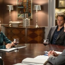 The Good Wife: Julianna Margulies, Steven Pasquale e Alan Cumming in Oppo Research