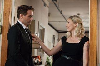 Robert Downey Jr. insieme a Vera Farmiga in The Judge