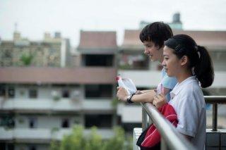 X + Y: Asa Butterfield con Jo Yang in una scena
