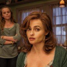 Lo straordinario viaggio di T.S. Spivet: Helena Bonham Carter con Niamh Wilson in una scena del film