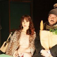 Soap Opera: Ricky Memphis con Chiara Francini in una scena del film