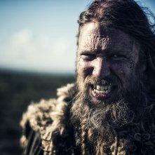 I vichinghi: Johan Hegg in una scena