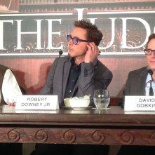 The Judge: Robert Downey jr. in conferenza di Roma