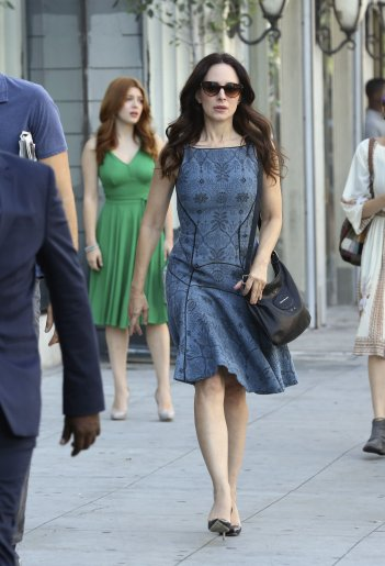 Revenge: l'attrice Madeleine Stowe in Ashes