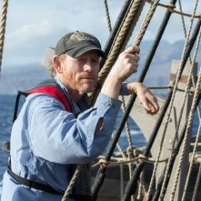 In the heart Of The Sea: il regista Ron Howard aggrappato alle corde delle vele