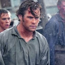 In the Heart Of The Sea: un primo piano di Chris Hemsworth