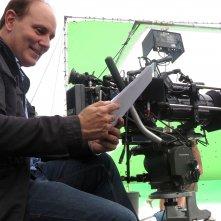 Il mio amico Nanuk: Brando Quilici, co-regista del film, in una foto dal set