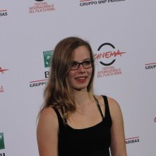 Roma 2014: l'attrice Saskia Rosendahl al photocall di We are Young. We are Strong