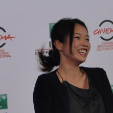 Roma 2014: l'attrice Trang Le Hong al photocall di We are Young. We are Strong