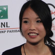Roma 2014: Trang Le Hong posa al photocall di We are Young. We are Strong
