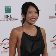 Roma 2014: Trang Le Hong al photocall di We are Young. We are Strong