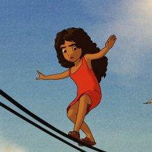 Kahlil Gibran's The Prophet: Almitra in una scena del film animato
