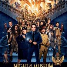 Locandina di Notte al museo 3 - Il segreto del faraone