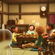 Una scena tratta dal film animato Doraemon