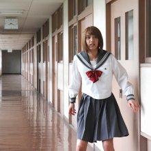 As the Gods Will: Hirona Yamazaki terrorizzata in una scena dell'horror thriller
