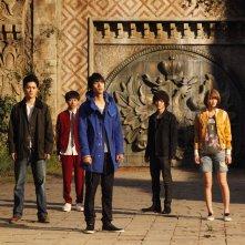 As the Gods Will: una scena di gruppo tratta dal film