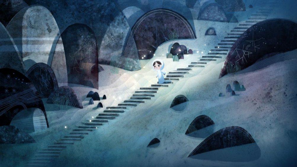 Song Of The Sea: la piccola Saoirse in una scena del film animato