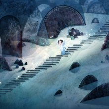 Song Of The Sea: la piccola Saoirse in una scena del film animato