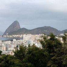 Trash: un bel paesaggio di Rio de Janeiro in una scena del film