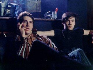SPANDAU BALLET - Il Film - Soul Boys of the Western World: Tony Hadley e John Keeble in una scena del documentario