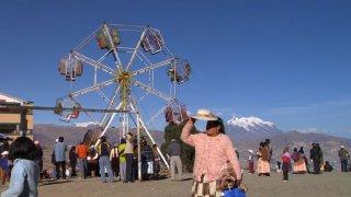 Un minuto de silencio: una scena del documentario incentrato sulla recente storia politica boliviana