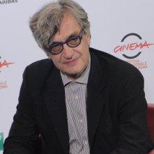 Wim Wenders posa a Roma 2014 per Il sale della terra