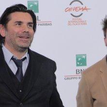 Roma 2014: Gust van der Berghe con Tomas Leyers al photocall di Lucifer