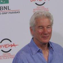 Richard Gere al photocall di Roma 2014 per Time Out of Mind