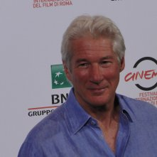 Richard Gere posa a Roma 2014 per Time Out of Mind