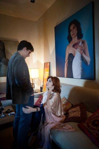 Tre tocchi: Antonio Folletto e Ida Di Benedetto in una scena del film di Marco Risi