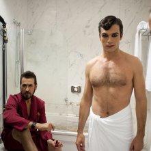 Tre tocchi: Marco Giallini con Luca Argentero in una foto promozionale