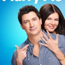 Marry Me: Ken Marino e Casey Wilson nella locandina della serie