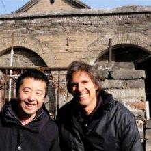 Jia Zhangke, Un Gars de Fenyang: Walter Salles con Jia Zhang-ke in una foto promozionale