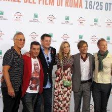 Festival di Roma 2014 - Spandau Ballet con la regista George Hencken per presentare il loro film