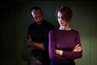 Tre tocchi: Vincenzo De Michele con Francesca Inaudi in una scena del film di Marco Risi