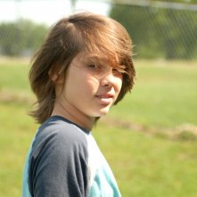 Boyhood: Ellar Coltrane in una scena del film di Richard Linklater