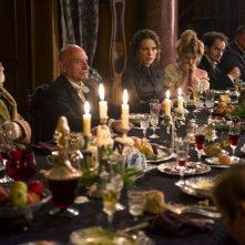 Stonehearst Asylum: Kate Beckinsale con Ben Kingsley e Sophie Kennedy Clark in una scena del film