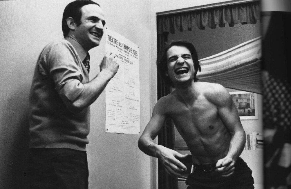 Truffaut con Jean Pierre Leaud