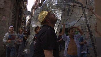 Largo Baracche: una scena del documentario di Gaetano Di Vaio