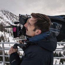 La foresta di ghiaccio: il regista Claudio Noce sul set