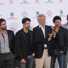 Tre tocchi: una foto del cast dal photocall di Roma 2014