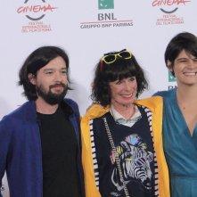 Roma 2014: Geraldine Chaplin con i registi al photocall di Sand Dollars