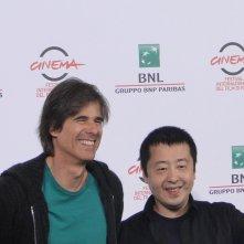Roma 2014: Jia Zhang-ke e Walter Salles al photocall di Jia Zhangke, un gars de Fenyang