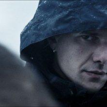 Domenico Diele in una scena de La foresta di ghiaccio