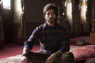Haider: Shahid Kapur in una scena del film