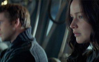 Hunger Games: Il canto della rivolta - Parte I, Jennifer Lawrence in un primo piano del film