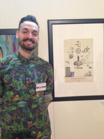 La mostra di The Big Bang Theory: l'illustratore italiano Matteo Morelli
