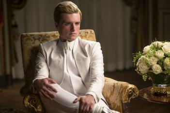 Hunger Games: Il canto della rivolta - Parte I, Josh Hutcherson in una scena
